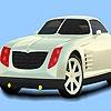 Раскраска: Красивый авто (White roadstar car coloring)