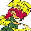 Раскраска: Танцовщица (Dancer zingaro coloring)