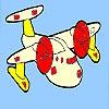 Раскраска: Мини-самолет (Mini airplane coloring)