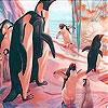 Пятнашки: Голуби на вечеринке (Penguins at the party slide puzzle)