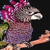 Пазл: Необычная птичка (Little unusual bird puzzle)