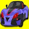 Раскраска: Супер авто (Super challenger car coloring)