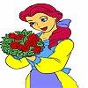 Раскраска: Принцесса (Princess rose coloring)