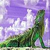 Пятнашки: Усталая ящерка (Tired lizard slide puzzle)