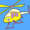 Раскраска: Вертолет (Sightseeing helicopter coloring)