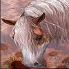 Пятнашки: Фантастическая лошадка (Fantastic horse slide puzzle)