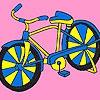 Раскраска: Велосипед (Racing bike coloring)