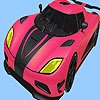 Раскраска: Гоночная машина (Most speed car coloring)