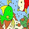 Раскраска: В море (Sea of love coloring)