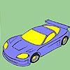 Раскраска: Автомобиль класса люкс (Fast Luxury car coloring)