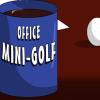 Офисный мини-гольф (Office mini-golf)
