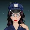 Одевалка: Девушка-коп (Space Cop Dress Up)