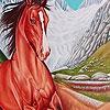 Пазл: Лошадка (Mountain  wild horse puzzle)