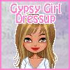 Одевалка: Цыганский наряд (Gypsy Girl Dressup)