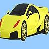 Раскраска: Городской авто (Modern city car coloring)