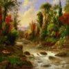 Пазл: Нарисованные пейзажи (Landscape Paintings Jigsaw)