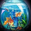 Пятнашки: Рыбки (Dream fishes slide puzzle)