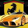 Пазл: Феррари (Ferrari Jigsaw Game)