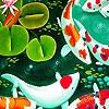 Поиск чисел: Рыбки (Vibrant fishes hidden numbers)