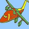 Раскраска: Быстрый самолет (Fastest airplane coloring)