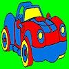 Раскраска: Фантастическая машина (Fantastic sport car coloring)