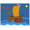 Раскраска: Драккар викингов (Viking Ship Coloring)