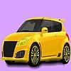Раскраска: Семейный автомобильчик (Little family car coloring)