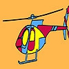 Раскраска: Вертолет (Private firm helicopter coloring)