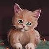 Пятнашки: Голодные котятки (Cute hungry kitten slide puzzle)
