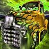 Пазл: Фантастический авто (Fantasy hot car puzzle)