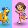 Угадай цвет с Дашей (Dora Colours Memory)