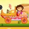 Даша перевозит конфеты (Dora Candy Transport)