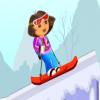 Даша на сноуборде (Dora Ski Jump)