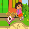 Даша помогает доставить товар (Dora's box delivery)