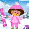 Даша на горнолыжном курорте (Dore Skiing Dress Up)