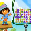 Даша стреляет из рогатки (Dora Fruit Slingshot)