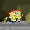 Губка Боб в темной пещере