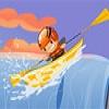 Трюки на байдарке (Upstream Kayak)