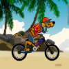 Скуби Ду: трюки на велосипеде (Scooby Doo: Beach BMX)