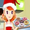 Кулинарный класс Сары: Рождественские пончики (Sara's Cooking Class: Christmas doughnut cookies)