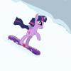 Мой маленький пони: Твелайт на снежных холмах (Twelight's epic hill ride)