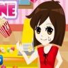 Продавец попкорна (popcorn machine serve)
