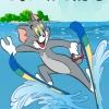 Том и Джерри: Лыжные трюки (tom ski stunts)