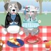 На пикнике (At a picnic)