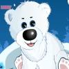 Полярный медвежонок (cuddles the polar bear cub)