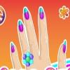 Маникюр для дискотеки (disco nails decoration)