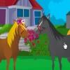 Лошадиный поцелуй (Horse Kissing)