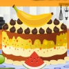 Укрась банановый чизкейк (Banana Cheesecake Decoration)