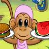 Обед для обезьянки (Monkey Diner)