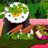 оформление суши (Sushi Decoration)